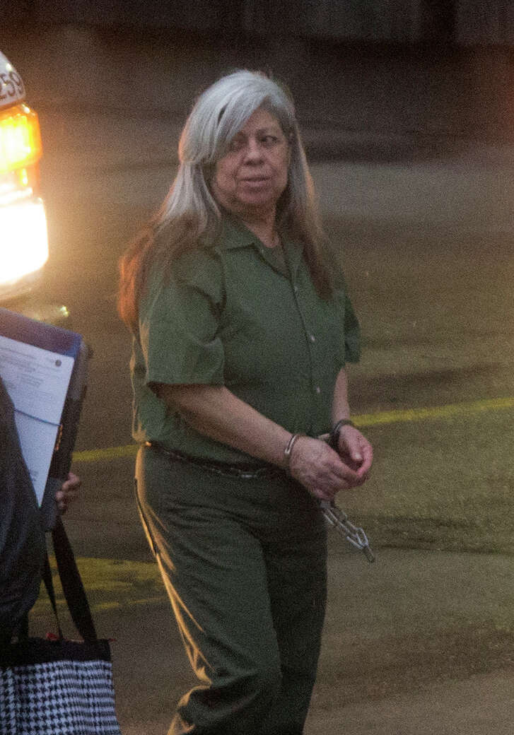 """Hortencia """"Tencha"""" Medeles, the 70-year-old madam of Las Palmas II, the brothel hell-hole masquerading as a cantina, was sentenced to life in prison earlier this month, but the sex-trafficking scourge in Houston is nowhere near under control. (Cody Duty / Houston Chronicle)"""