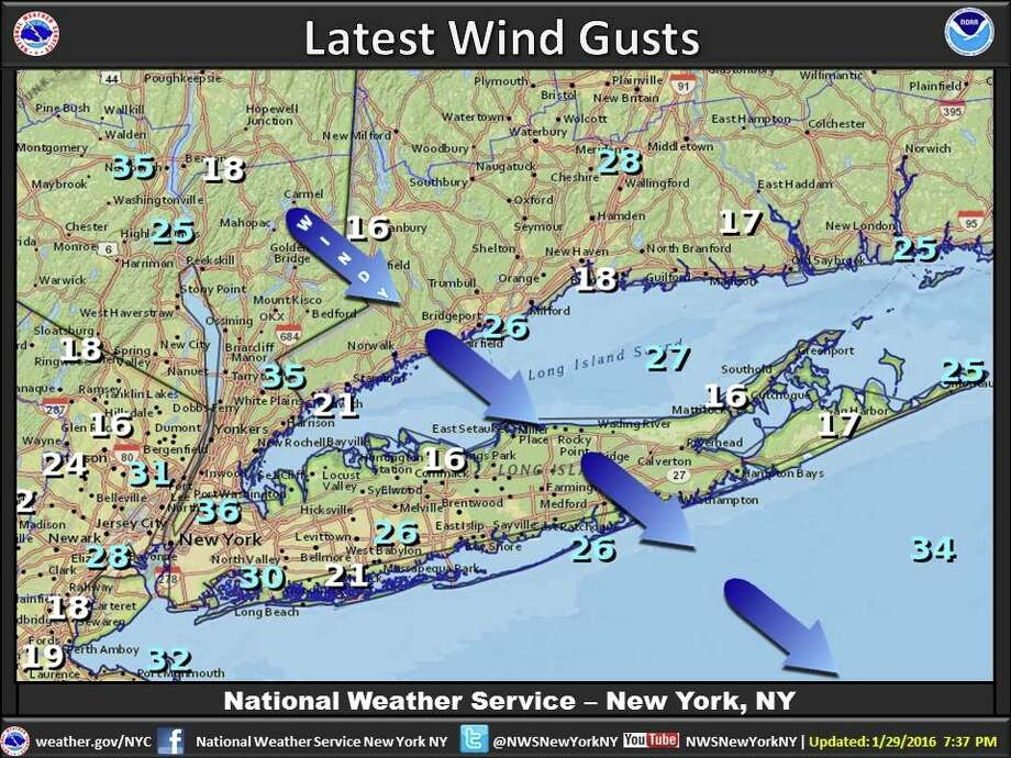 National Weather Service cautions sailors in Long Island
