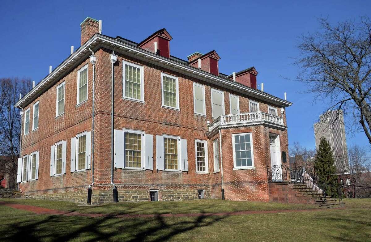 Exterior of the Schuyler Mansion