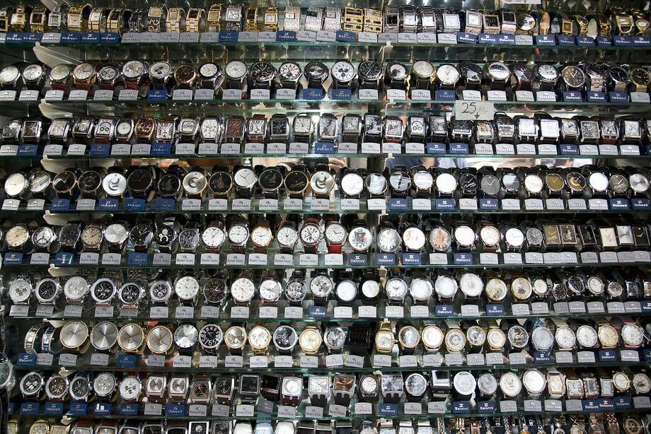 Fake Designer watches Photo: Travelpix Ltd, Getty Images