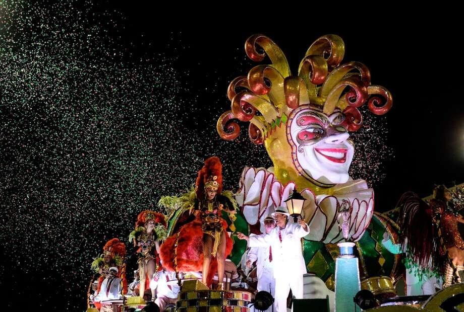 A parade in Rio, Brazil Photo: YASUYOSHI CHIBA, AFP/Getty Images