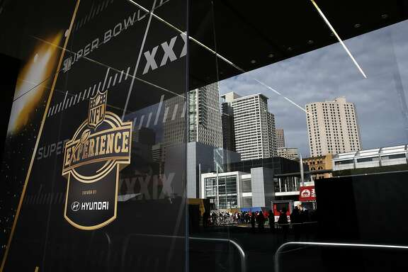 Opening day of the free fan NFL Experience in downtown San Francisco, Calif., on Sat. January 30, 2016