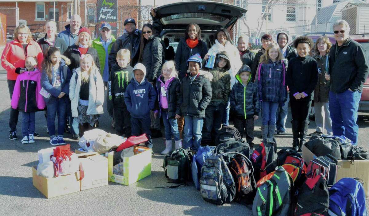 Homes for the Brave, the Bridgeport based organization aiding homeless Veterans, received a heartfelt donation on Saturday January 30th from the Sunday School class of the Rock of Waterbury.