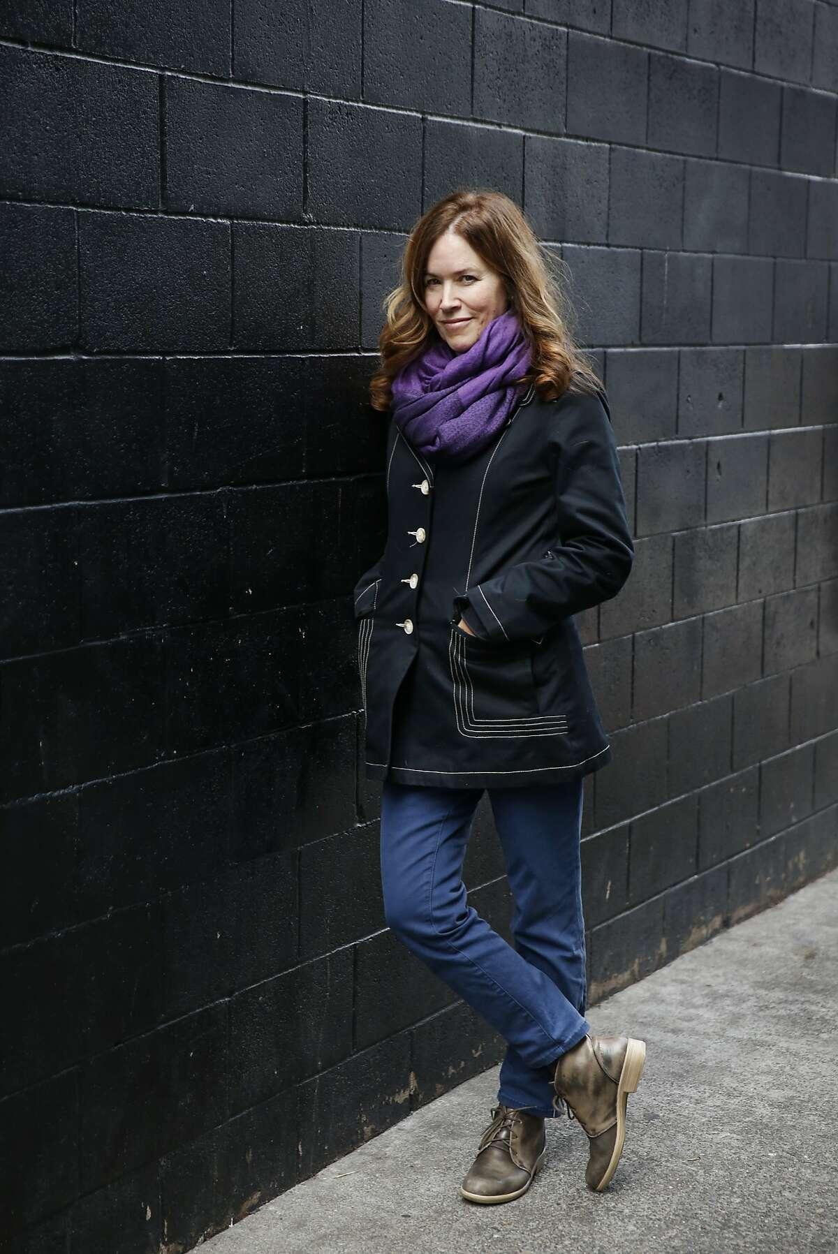 Elizabeth McKenzie, author of The Portable Veblen, pictured Jan. 30, 2016 in Palo Alto, Calif.