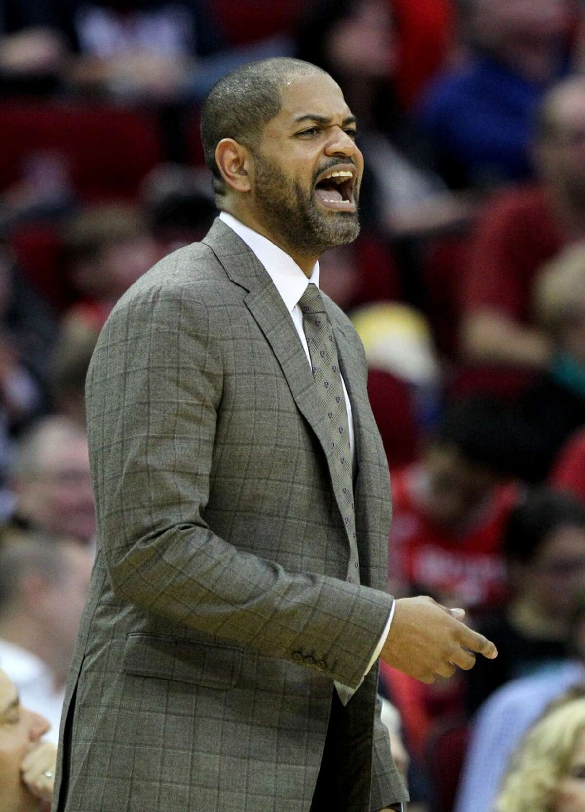 Interim Rockets coach J.B. Bickerstaff says the Rockets aren't paying attention to what other teams are doing.