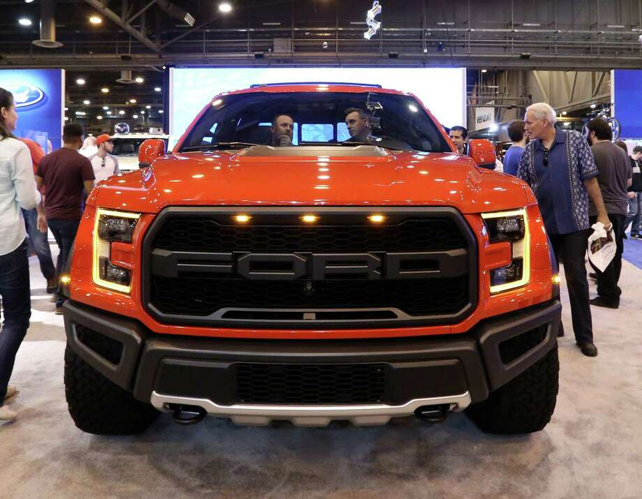 A 2017 Ford Raptor is seen at the 2016 Houston Auto Show Saturday, Jan. 30, 2016, in Houston. Photo: Jon Shapley, Houston Chronicle / © 2015  Houston Chronicle