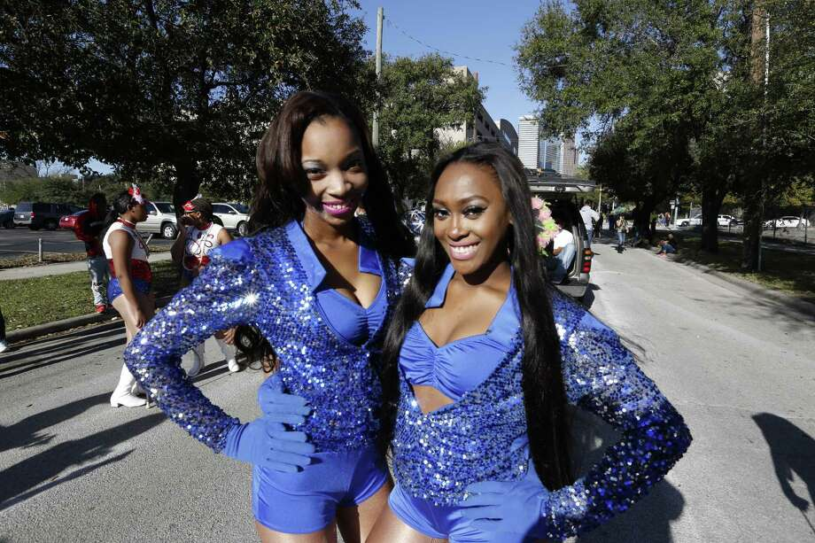 Houston Creole Heritage Festival Mardi Gras Parade Saturday, Jan. 30, 2016, in Houston.    The Houston Creole Festival and Mardi Gras Parade (Festival) is to preserve and celebrate Creole history; including its unique fusion of African, French, Native American and Spanish cultures. Photo: Steve Gonzales, Houston Chronicle / © 2016 Houston Chronicle