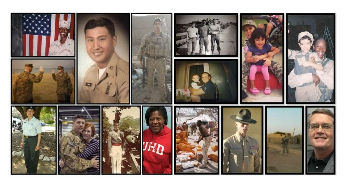 Veterans who've participated in The Telling Project.