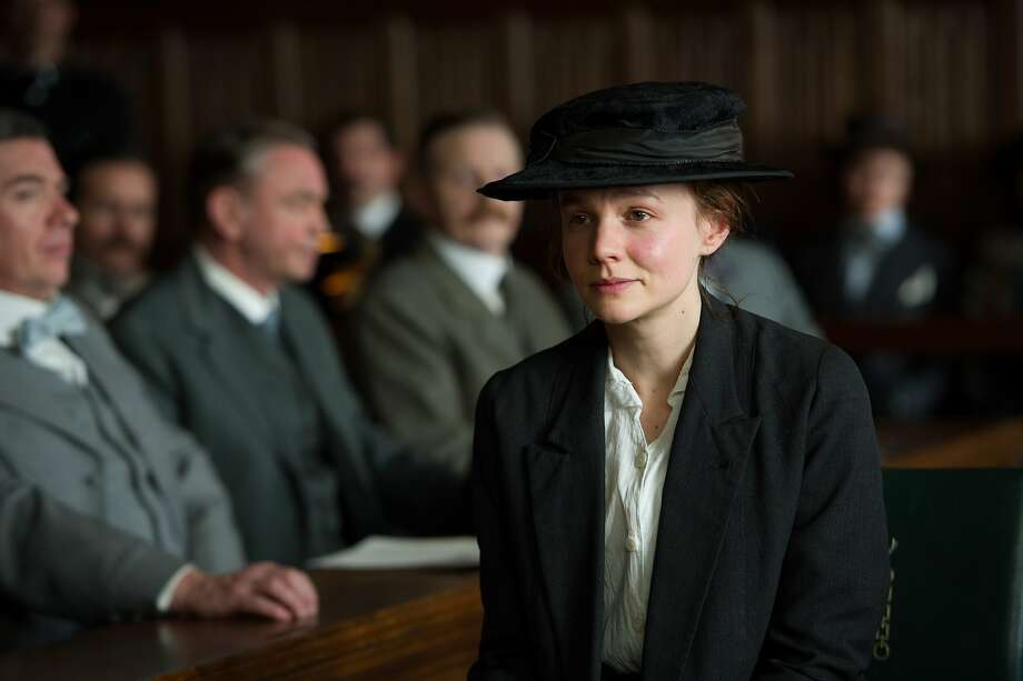 "Oscar-nomination-worthy? Carey Mulligan plays Maud Watts in ""Suffragette."" Photo: Steffan Hill, Associated Press"