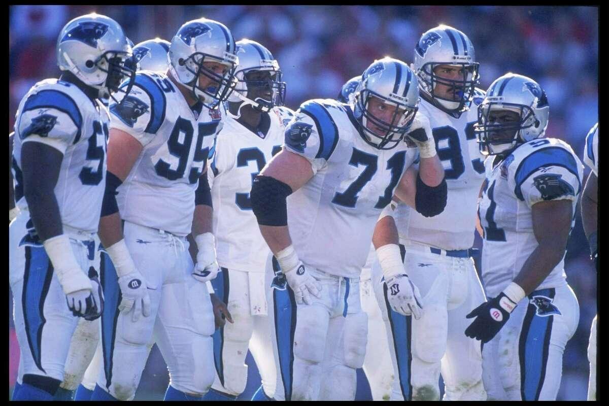 Panthers' inaugural season When: 1995 Record: 7-9