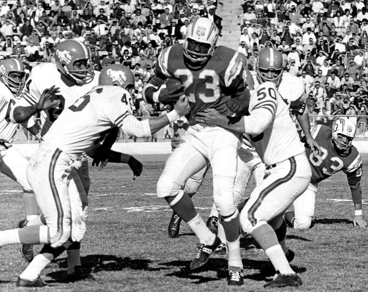 Broncos' inaugural season When:1960 (in AFL) Record:4-9-1