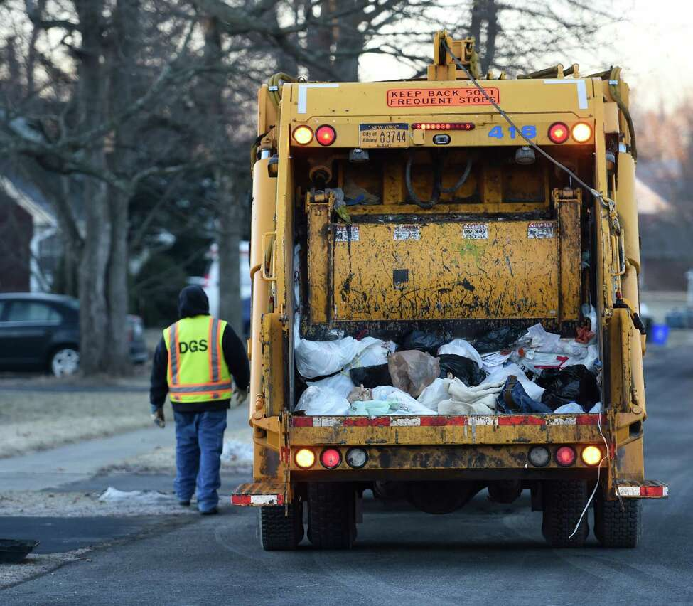 Skip Dickstein / Times Union Albany, which spends $5 million a year on garbage collection, wants to reduce the tonnage taken to the dump and increase recycling.