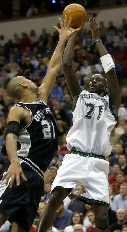1.The first rodeo road trip began Jan. 27, 2003, against the Minnesota Timberwolves. The Spurs lost 95 to 106. Photo: ANN HEISENFELT, AP / AP