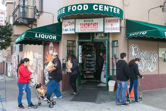 Roxie Food Center opened in 1975 and is located on the corner of San Jose and San Juan Ave in SF.