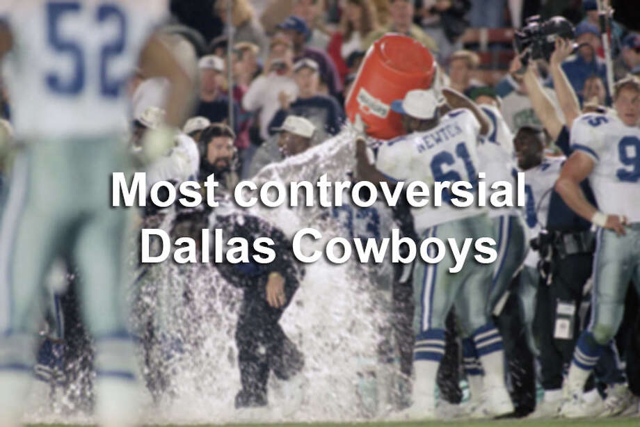 The Dallas Cowboys have had a number of interesting characters in their storied history, and some have gained as much fame for their off-the-field antics as their play on the field. / 1993 AP