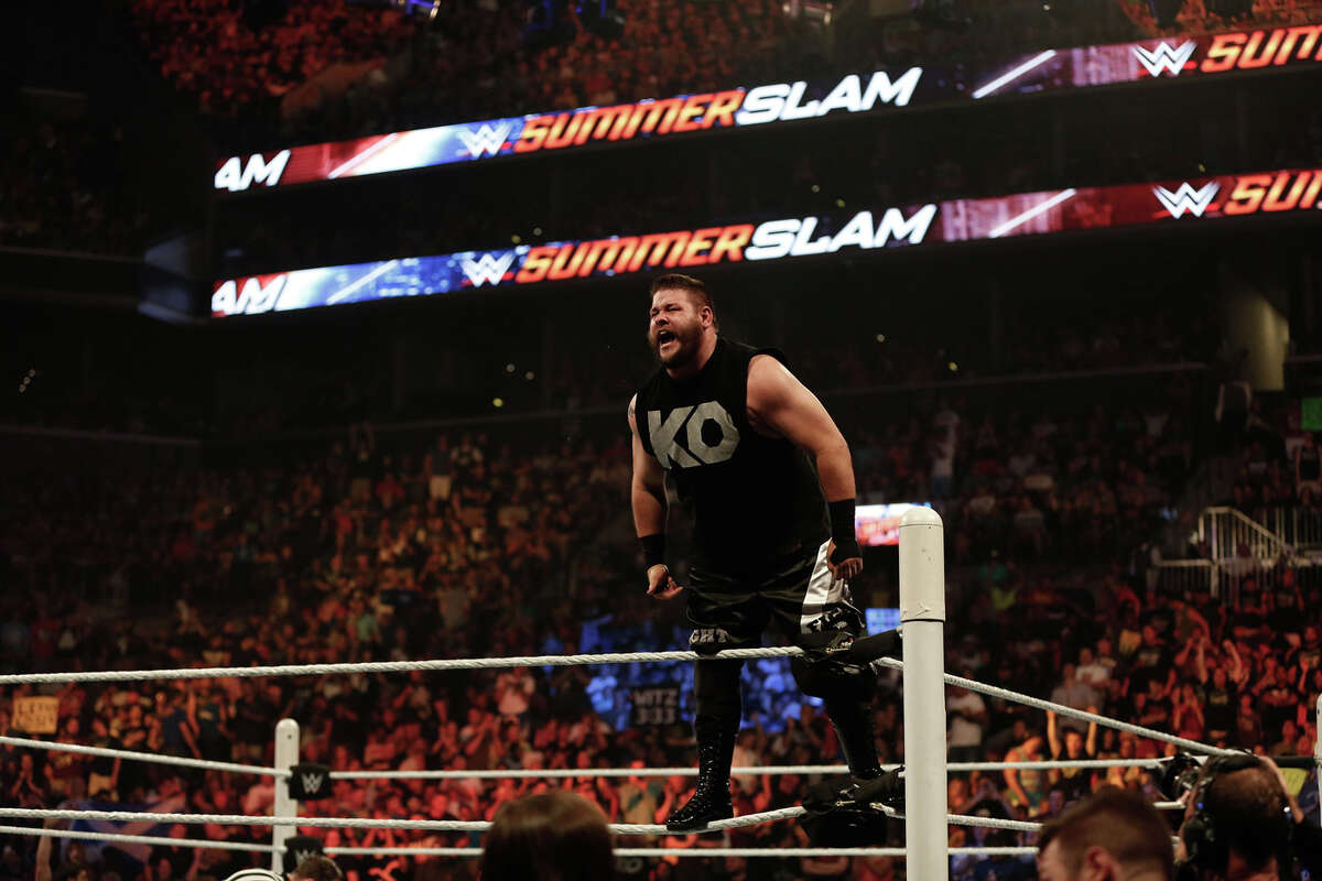 Kevin Owens Owens is one of the WWE's top bad guys. He has the physical size to match the Undertaker but still enough enough get-up-and-go to keep the match moving around the older Undertaker. He also tells stories well both in the ring with his wrestling skills and out of the ring with his mic skills, meaning it would be easy for him to help set up a feud with Undertaker. But the WWE just seemingly has other plans for Owens right now, which mainly include the Intercontinental Title picture. More likely scenario: Owens vs. Dean Ambrose vs. A.J. Styles in triple-threat Intercontinental Title match.