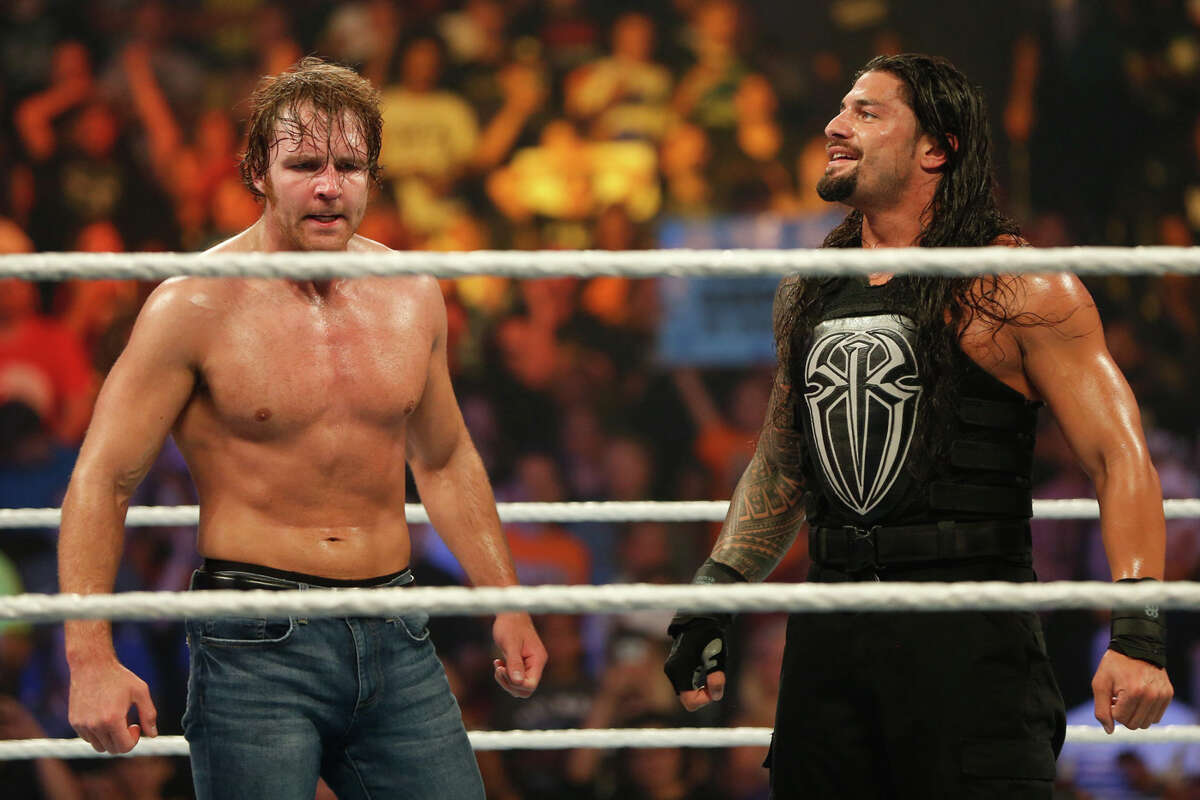 Dean Ambrose Ambrose is one of the top stars of today, but it's difficult to see where a feud between the two would be born from. Ambrose also is more of a street-fighting brawler, and an aging Undertaker needs someone who will run the ropes and keep the action largely inside the ring. More than anything, Ambrose is one of the few headlining stars WWE fans willingly root for, so turning him into a bad guy to fight the Undertaker seems short-sighted. More likely scenario: Ambrose vs. Kevin Owens vs. A.J. Styles in a triple-threat Intercontinental Title match.