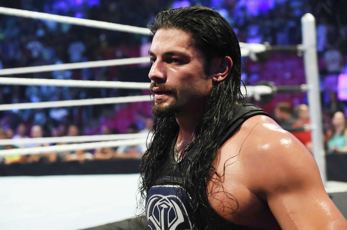 Roman Reigns The WWE is trying hard to make Roman Reigns the next big fan favorite of the company, but a lot of fans just aren't biting. In fact, many of them are booing. While many speculate Reigns will be back in the title match at Mania, forcing it might not make the most sense for Reigns' long-term plan. Moving Reigns to a match with the Undertaker keeps him high-profile and allows him to build up some fan credibility. He matches up well with Undertaker physically and both like to slug things out in the ring, so neither would be forced into a high-speed match of flying dropkicks or frog-splashes, which is neither of their forte. Plus, Reigns could fight with the Undertaker and retain his good guy image, or use it as an opportunity to move toward a more villainous role. More likely scenario: Reigns vs. Triple H