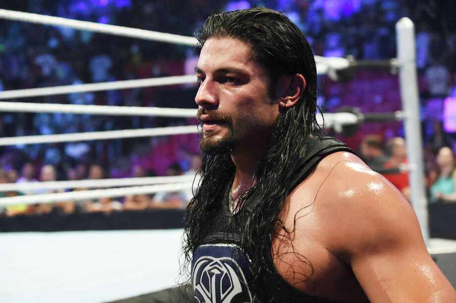 Roman ReignsThe WWE is trying hard to make Roman Reigns the next big fan favorite of the company, but a lot of fans just aren't biting. In fact, many of them are booing. While many speculate Reigns will be back in the title match at Mania, forcing it might not make the most sense for Reigns' long-term plan. Moving Reigns to a match with the Undertaker keeps him high-profile and allows him to build up some fan credibility. He matches up well with Undertaker physically and both like to slug things out in the ring, so neither would be forced into a high-speed match of flying dropkicks or frog-splashes, which is neither of their forte. Plus, Reigns could fight with the Undertaker and retain his good guy image, or use it as an opportunity to move toward a more villainous role.More likely scenario: Reigns vs. Triple H Photo: Ron Elkman/Sports Imagery, Getty Images / 2015 Ron ElkmanSports Imagery
