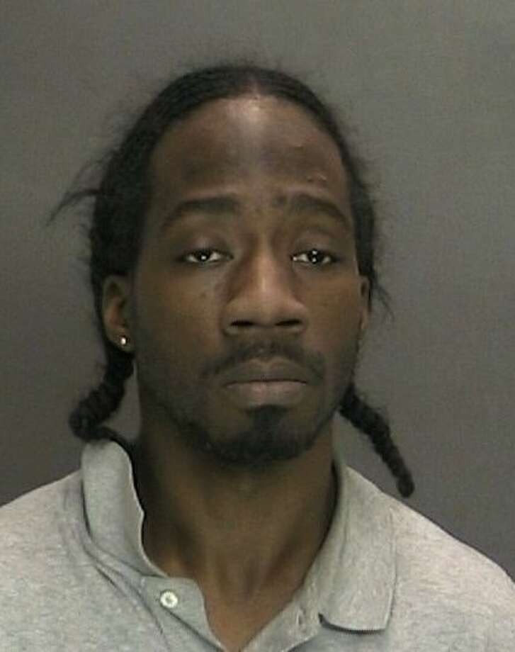 Andre Massey, 32, allegedly rammed two vehicles while on ectasy, State Police said. (Photo: State Police).