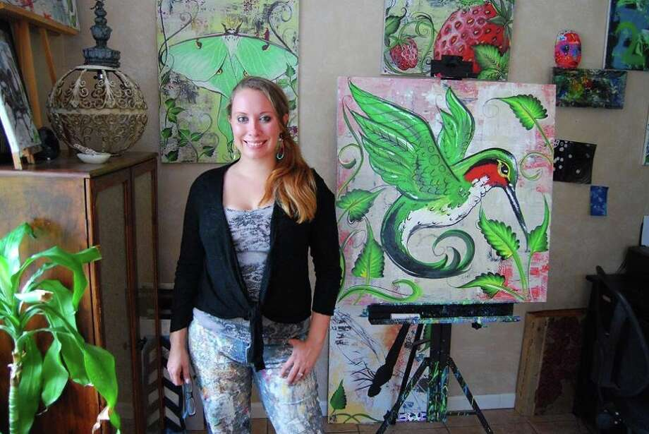 Betty Smith, a local artist, is opening a commercial studio on Calder Avenue.