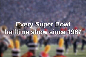 Click through the following images to see every Super Bowl halftime show since 1967.