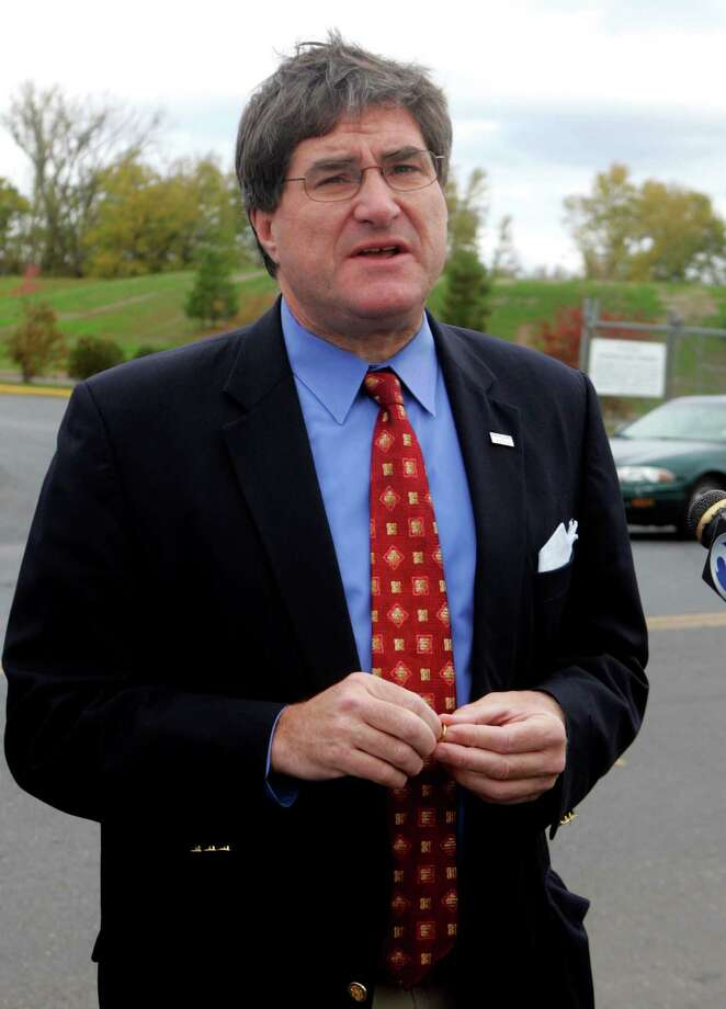 Former Connecticut state Republican Party Chairman Chris Healy makes $84,460 advising the GOP minority in the state Senate. Photo: Bob Child / AP Photo /Bob Child / AP2008 Associated Press