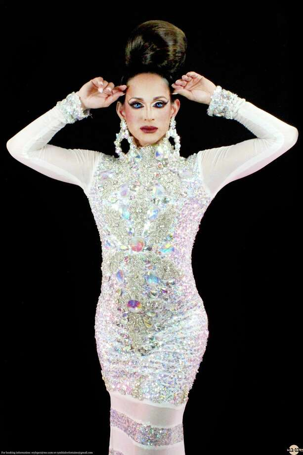RuPaul's Drag Race Season 8 contender Cynthia Lee Fontaine calls Austin home and is a regular performer at Oilcan Harry's. Photo: William Boyd / WilliamBoyd 2015