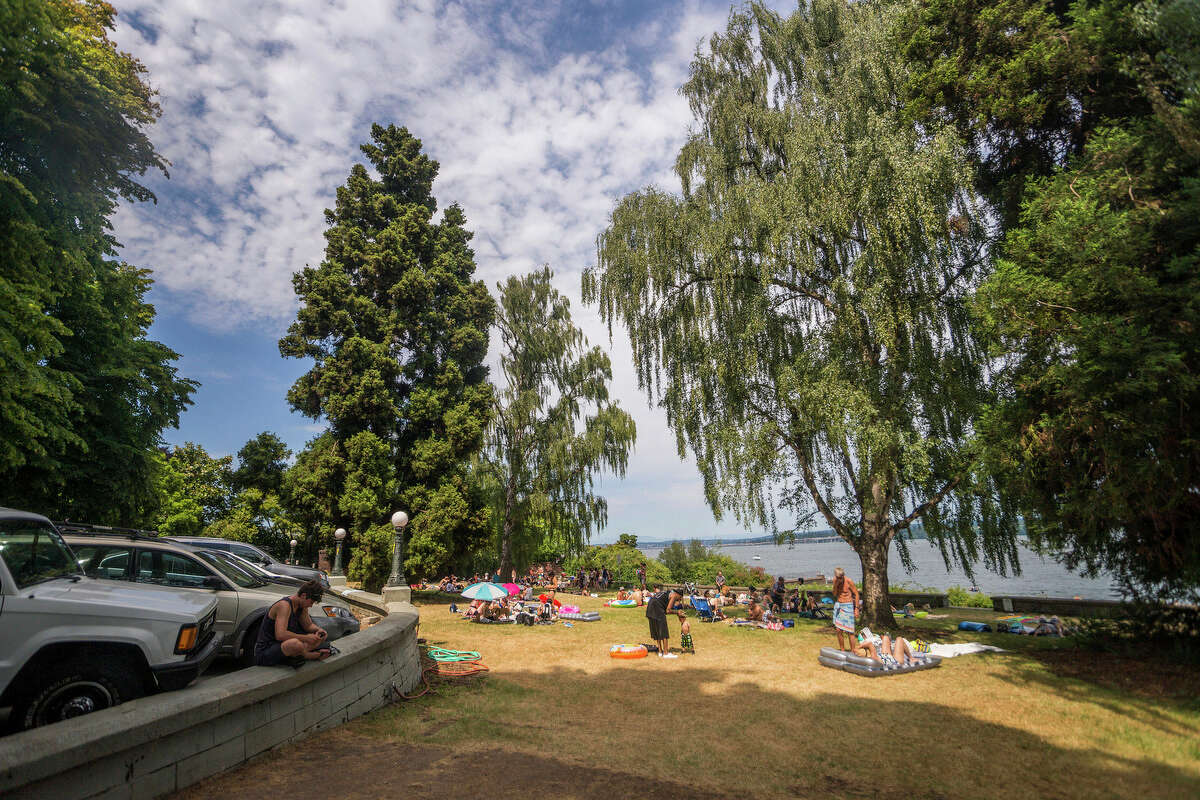 Denny-Blaine Park, Seattle This nude-friendly beach might be Seattle's best-known.