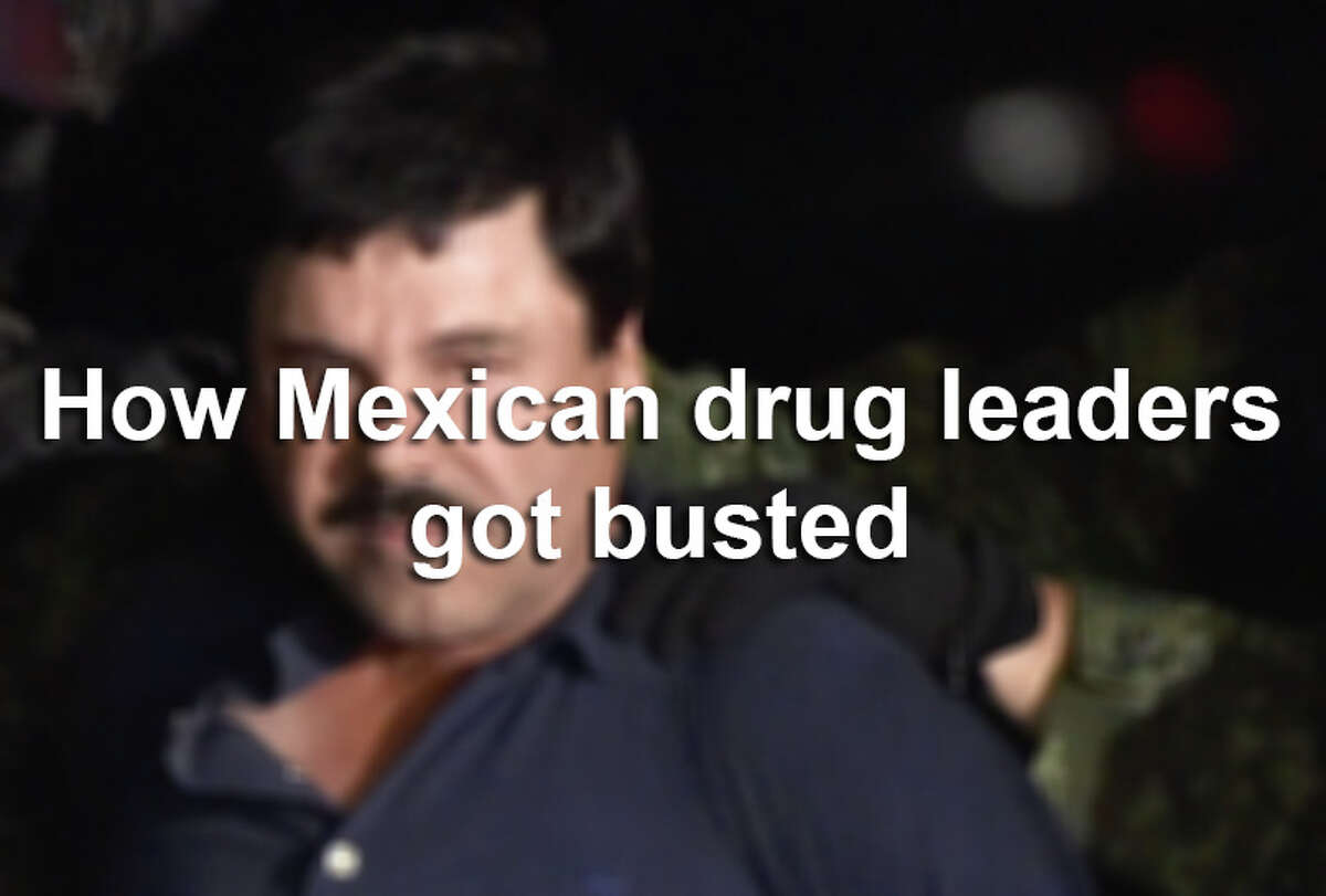 Scroll through the slideshow to see the crazy reasons Mexican drug lords and traffickers got nabbed by authorities - or met their end.