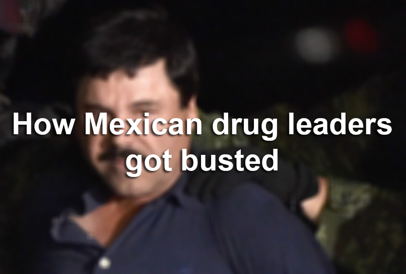 The Crazy Reasons Mexican Drug Cartel Leaders Got Busted