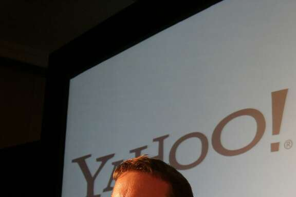 Yahoo Inc. Co-Founder David Filo looks on during an event to launch company's new products in Bangalore, India, Wednesday, April 25, 2007. Yahoo India announced the launch of Yahoo India Our City and Yahoo India Maps. Our City, is the next generation Web 2.0 mashup application from Yahoo. India Maps provides street level search functionality along with street map, satellite map and the additional feature of hybrid maps.