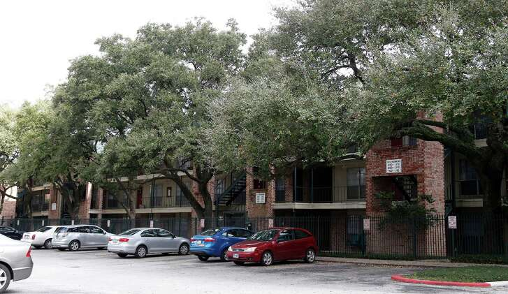 """The Richmont Square Apartments, built in 1968, had been called a """"great elephant"""" standing in the way of growth for the Menil Collection's 30-acre property. Rents at the complex range from $850 to $1,200 for one- and two-bedroom units."""