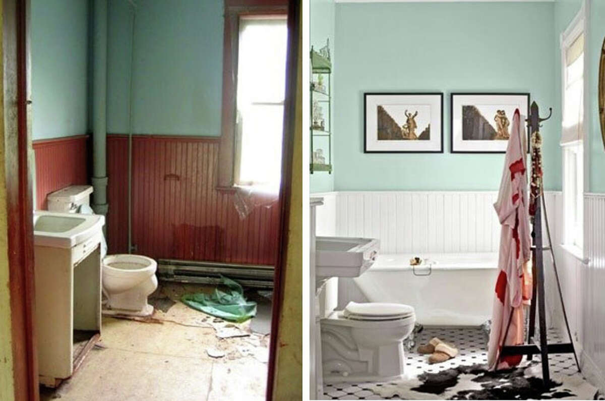 Before and After: Keep clicking for a look at some of our favorite bathroom transformations.