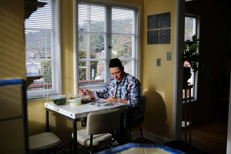 Leshefsky hasn't been able to find anyplace to live in the city she can afford, so she's considering moving to Portland, Ore., at the end of the school year. Photo: Gabrielle Lurie, Special To The Chronicle