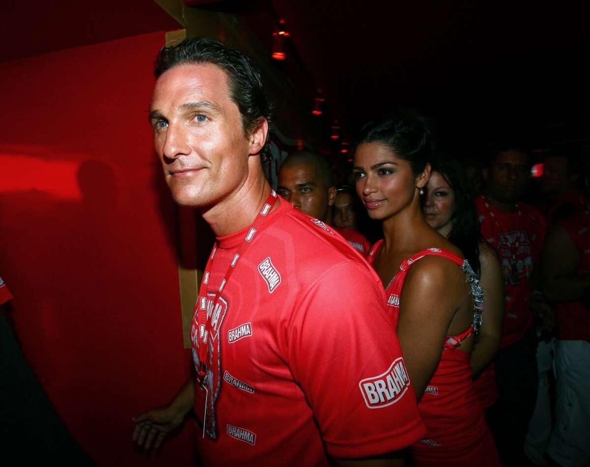 Matthew McConaughey hails from Texas.