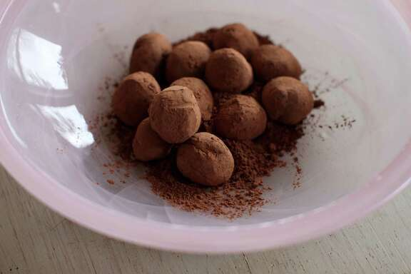 Truffles made with 70 percent dark chocolate can improve your health and your love life.