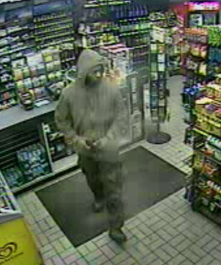 Albany police on  Feb. 1 released this store surveillance photo of the suspect in the armed robbery of the Sunoco station at  477 Delaware Ave. on Jan. 23.