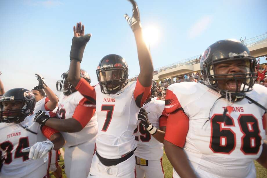 """Port Arthur Memorial's Central's during their match-up Saturday at """"The Butch"""" in Beaumont. Photo taken Saturday, September 5, 2015 Photo by Kim Brent"""