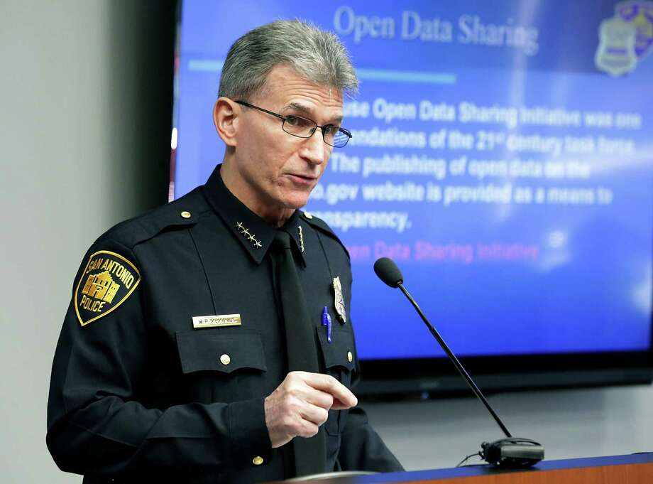 Police Chief William McManus joined other law enforcement leaders in the nation's capital. Photo: Bob Owen /San Antonio Express-News / San Antonio Express-News