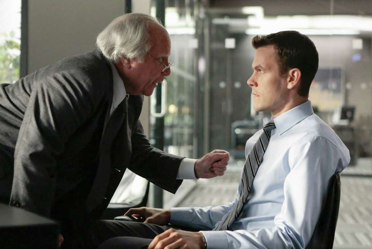 """Richard Dreyfuss (left) and Tom Lipinski in the new miniseries """"Madoff"""" on ABC."""