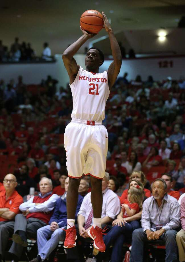 Houston Cougars guard Damyean Dotson led the way against Tulane on Wednesday. Photo: Elizabeth Conley, Houston Chronicle / © 2016 Houston Chronicle