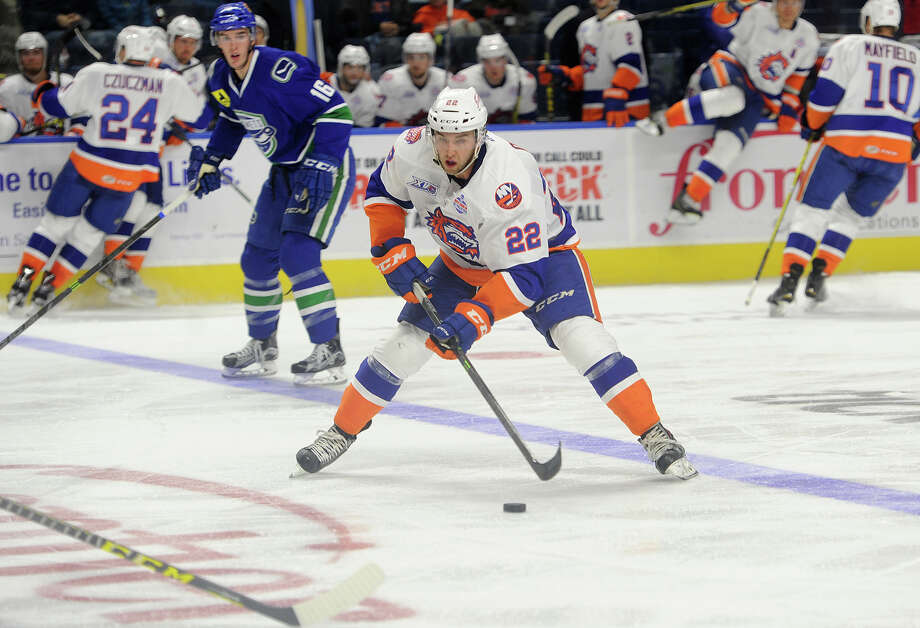 Alan Quine represented the Bridgeport Sound Tigers at the AHL All-Star game on Monday night. Photo: Brian A. Pounds / Hearst Connecticut Media / Connecticut Post