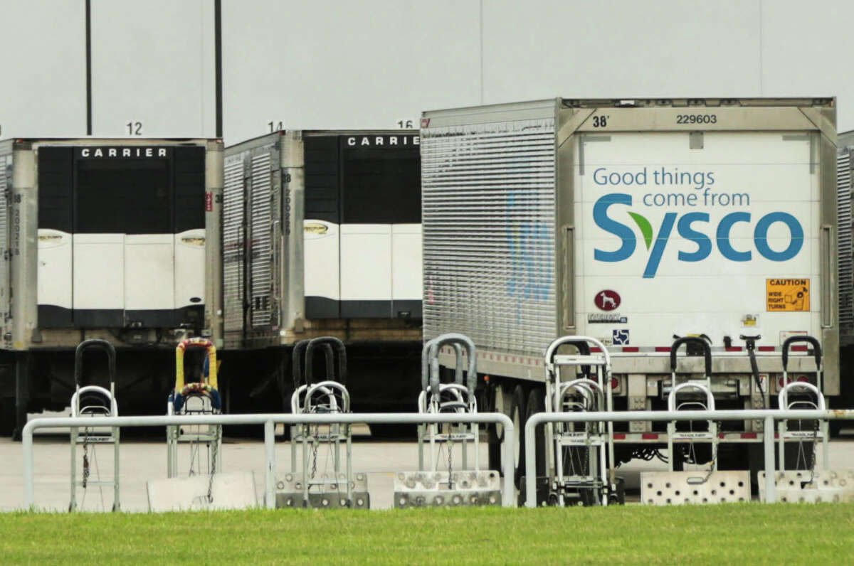 Low fuel prices are helping Sysco save money. CEO Bill DeLaney says the company is on track to reach its savings goals.