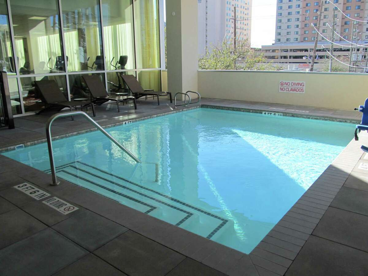 The pool and fitness center at the new Hyatt Place Houston Galleria at 5252 W. Alabama.