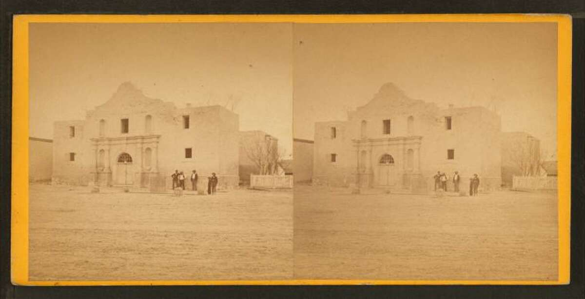 The AlamoStereoscopic view, 1876-1879