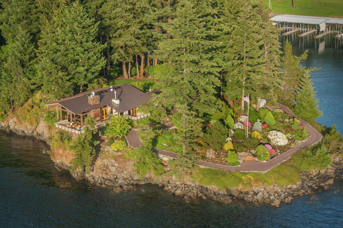 The property has more than 29 acres. Blakely Island is part of the San Juans.