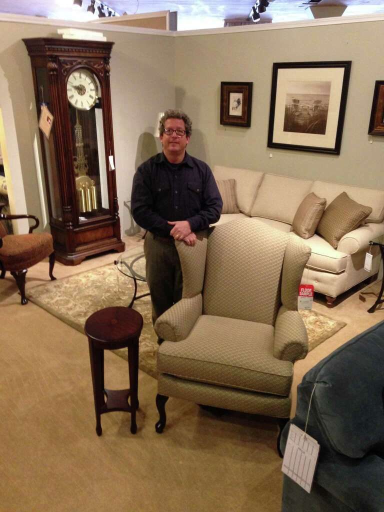 Howie Kreiger, Who Owns Spector Furniture With His Brother, Ken, In The  Ansonia