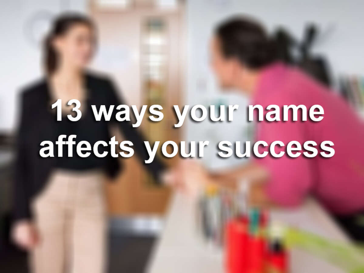 A name matters more than you think. Click on for the surprising ways your name affects your success.