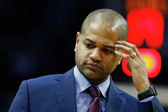 J.B. Bickerstaff strikes a more congenial pose Tuesday night after being too outspoken in the NBA's view on Saturday.